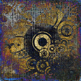 Art grunge graphic background. Art abstract grunge graphic background Royalty Free Stock Image