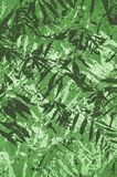 Art grunge green abstract pattern background. Art grunge green abstract pattern illustration background royalty free illustration