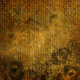 Art grunge vintage floral background. Abstract floral grunge aged background Royalty Free Stock Photo