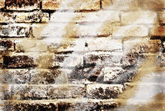 Art grunge in wall Royalty Free Stock Photo