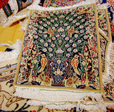 Art and Handicraft of Persian Carpets Royalty Free Stock Photography