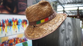 Art hat in the gallery Stock Images