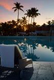 Art Hawaiian Vacation Sunset Concept Stock Images