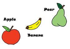 Art Healthy frukt Fotografering för Bildbyråer