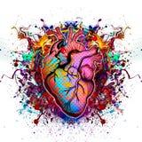 Art heart Stock Photo