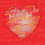 Art heart Stock Photos