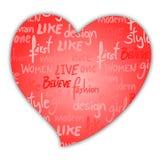 Art heart Royalty Free Stock Photo