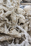 Art Hell Style in Wat Rong Khun Royalty Free Stock Images