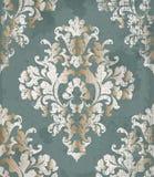 Art-Hintergrund Vektor der Weinlese barocker Empfindliche klassische Luxusverzierung Königliche viktorianische Kaiserdekors Stockbilder
