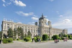 Art History Museum (Kunsthistorisches museum), Wien, Österrike arkivfoto