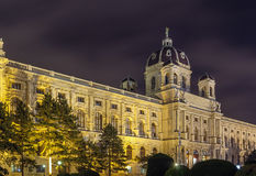 Art History Museum, Wien stockfotos