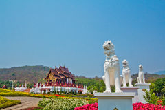 Art at Ho Kham Luang Stock Photo