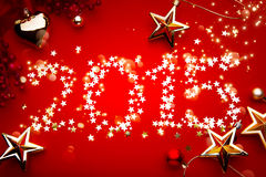 Art 2015 Holidays background Royalty Free Stock Images
