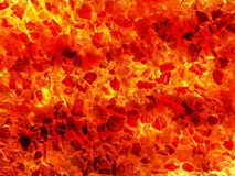 Art hot lava fire abstract pattern background. Art hot lava fire abstract pattern illustration background Royalty Free Stock Photo