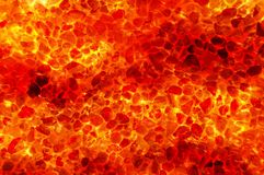 Art hot lava fire abstract pattern background. Art hot lava fire abstract pattern illustration background Stock Photo