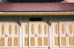 Art of house door entrance. Stock Image
