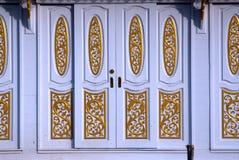 Art of house door entrance. Stock Photos