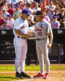 Art Howe and Tony LaRussa (Managers) Royalty Free Stock Photography