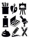Art icon Stock Photos