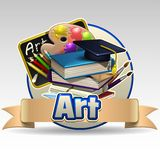 Art icon Royalty Free Stock Photos