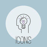 Art icon vector illustration design linear artistic ink pictogram button crafts graphic collection thin symbol iconweb. Vector illustration of thin line icon for royalty free illustration