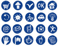 Art-icons Royalty Free Stock Photography