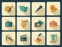 Art icons Royalty Free Stock Photo