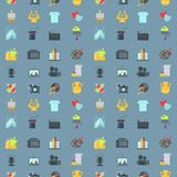 Art icons seamless pattern background atist ink graphic color creativity movie collection vector illustration. Art icons seamless pattern background vector vector illustration