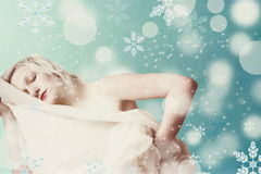 Art image with beautiful woman Royalty Free Stock Photography