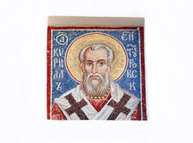 Art image on the Orthodox Church. Royalty Free Stock Photo