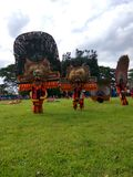 Art indonésien REOG PONOROGO Photo stock