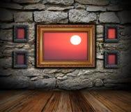 Art indoor setting Stock Image
