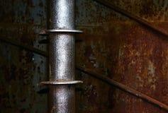 Art industriel rouillé matériel Images libres de droits