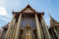 Art Inside Grand Palace av Bangkok Royaltyfri Foto