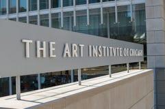 Art Institute av Chicago Royaltyfria Foton