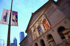 Art Institute of Chicago Stock Photo