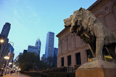 Art Institute of Chicago Royalty Free Stock Images