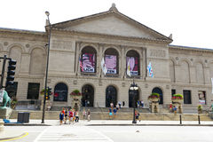 The Art Institute of Chicago. CHICAGO, ILLINOIS - JUL 21: The Art Institute of Chicago The Art Institute has one of the worlds most notable collections of Royalty Free Stock Photography