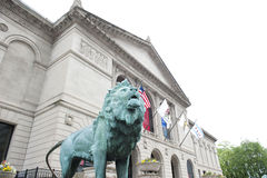 Art Institute Chicago photographie stock libre de droits