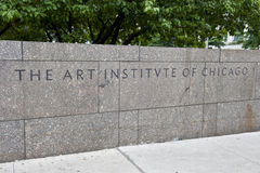 Art Institute of Chicago Royalty Free Stock Image