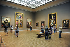 Art Institute of Chicago Gallery Stock Images