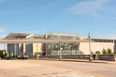 Art Institute of Chicago. CHICAGO, ILLINOIS - AUGUST 22, 2015: Art Institute of Chicago. Located in Chicago's Grant Park it features a collection of Royalty Free Stock Image
