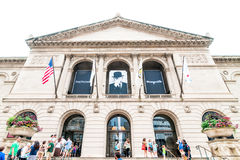 The Art Institute of Chicago Royalty Free Stock Photo