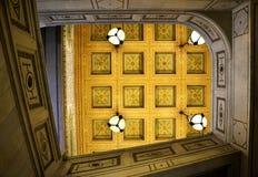 Art Institute de Chicago/del techo Imagen de archivo