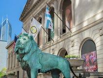 Art Institute di Chicago Fotografia Stock Libera da Diritti
