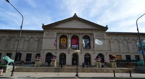The Art Institute. This is a picture of the Art Insitute of Chicago that was built as a venue for the 1893 World's Columbian Exposition with the understanding stock photos