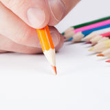 Art instruments and all things related - 1 to 1 ratio Stock Image
