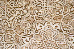 Art islamique - Alhambra Photo stock
