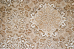 Art islamique - Alhambra Photo stock