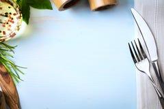 Art italian homemade menu food background; restaurant week Royalty Free Stock Photography